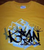 KORN WORLDWIDE BAND T-Shirt 2XL XXL NEW