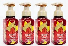 4 Bath & Body Works CHERRY WOODS Foaming Hand Soap Autumn Harvest