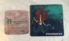 Starbucks Siren Mermaid  Mouse Pad and Eyeglass Lens Cleaning Cloth