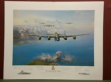 THE SINKING OF THE TIRPITZ by Frank Wootton ,L.Edit,Signed & Certificate ,Print