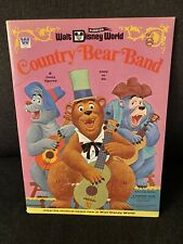 1971 Whitman Walt Disney World Country Bears Band Paper Dolls