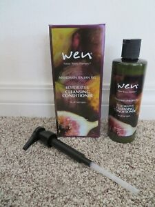 NEW Boxed Sealed WEN Mandarin Italian Fig Hair Cleansing Conditioner 16 oz  Pump