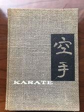 Karate, by Hidetake Nishiyama & Richard Brown-1960-1st Ed.,3rd Prtg.Vtg.H/C Book