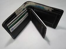Quality Luxury Men's Soft Cow Leather Wallet with id or Photo Space