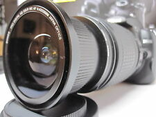 Wide Angle Macro Closeup Fisheye lens for Nikon d3300  d5300 as 50/35mm 52MM New