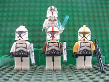 STAR Wars 4 CLONE si sveglia Force, Storm Trooper Mini Figura LEGO GRATIS PISTOLA UK STOCK