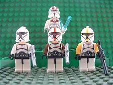 Star Wars Force Awakens 4 Clone,Storm Trooper Mini Figure Free lego Gun UK STOCK