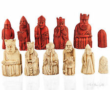 Isle of Lewis Chessmen, NEW LISTING, 1:1 Replica, Walking Dead, Harry Potter Che