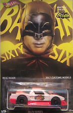 Hot Wheels SU MISURA ACURA NSX batman-adam WEST omaggio Real RIDER 1/25 FATTO