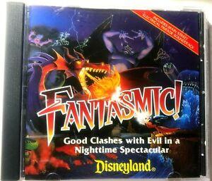 Walt Disney Fantasmic & Main Street Electrical Parade Disneyland Soundtrack CD
