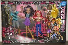 Monster High dolls Howleen, Clawdeen, Clawd and Clawdia Wolf Family Mattel new