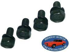 GM Manual Front Power Drum Brake Line Rear Wheel Cylinder Bolts Screws 4pcs NL