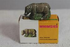 WADE WHIMSIE RHINO BOXED - ENG WHIMSIES FROM SET SEVEN -  GC ref 7