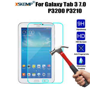 Tablet Tempered Glass Screen Protector For Samsung Galaxy Tab 3 7.0 P3200 /P3210