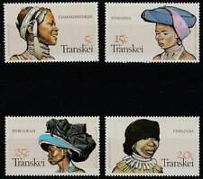 Transkei postfris 1981 MNH 92-95 - Hoofd Bedekkingen