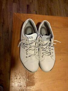 Ecco Biom Golf Shoes - White/Gray - Size 44 (10.5-11)