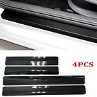 4PCS Car Door Sill Scuff Cover Anti Scratch Sticker Accessories For Toyota RAV4