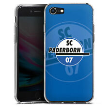 Apple iPhone 8 Silikon Hülle Case - SC Paderborn Branding