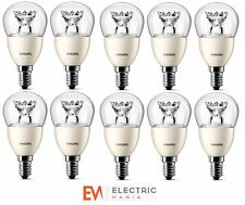 10x Philips E14 Small Edison Screw 4 Watt LED Spot Warm White [Energy Class A+]
