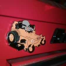 ZERO TURN MOWER Magnet/for snap on tool box decoration...toolbox not included