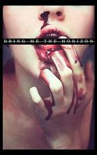 "BRING ME THE HORIZON FLAGGE / FAHNE ""BLOOD LUST"" POSTER FLAG POSTERFLAGGE"