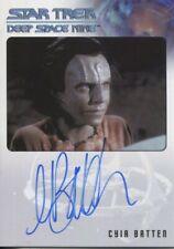 Star Trek Deep Space Nine Heroes & Villains Autograph Cyia Batten