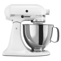 KitchenAid 5-Quart Artisan Tilt-Head Stand Mixer | White