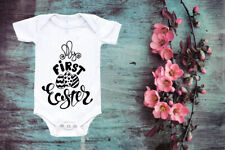 My First Easter Baby Vest Cute Baby Vest Baby Easter Romper  Easter Toddler 21