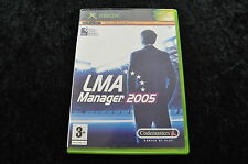 LMA manager 2005 Xbox Game