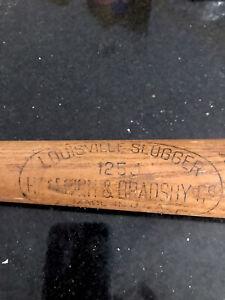 Hillerich Bradsby #125 Louisville Slugger Baseball Bat 32 Inch