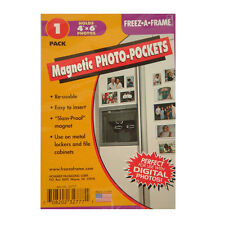 New Freez A Frame 4x6 Magnetic Photo Pocket For 4x6 Photos