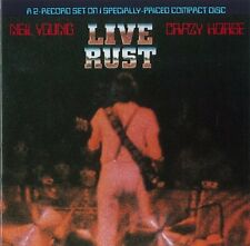 NEIL YOUNG  LIVE RUST CD NEW