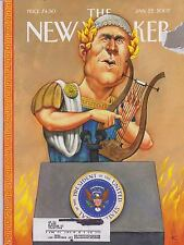 JAN 22 2007 NEW YORKER vintage magazine - ROME, PRESIDENT OF U.S.