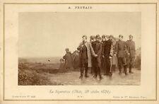 PHOTOGRAPHIE A.PROTAIS LA SEPARATION CARTE ALBUM N°455