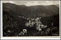 Bad Bertrich Rheinland-Pfalz Postkarte 1935 gelaufen Panorama Gesamtansicht