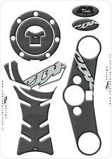 KIT ADESIVI STICKERS 3D RESINATI PROTEZIONE MOTO HONDA CBR 600 RR 07-08