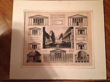 Original 1846 Antique Henry Winkles Steel Engraving Collectible