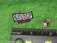 Original Jim Dunlop / Cry Baby Wah Logo Pin // Made of Metal, Super detail