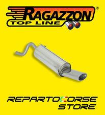 RAGAZZON TERMINALE SCARICO OVALE FIAT GRANDE PUNTO 1.2 48kW 65CV 9/05>50.0128.10