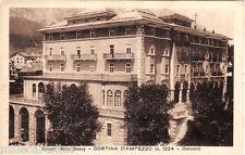 #CORTINA D'AMPEZZO: GRAND HOTEL SAVOY