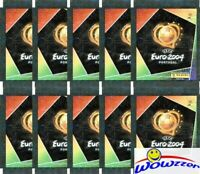 (10) 2004 Panini Euro Factory Sealed Sticker Packs-50 Stickers! RONALDO RC PSA?