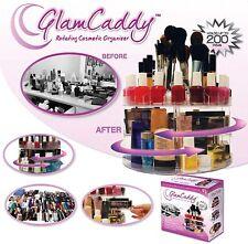 Versátil Giratorio Glam Caddy cosméticos Organizador Make Up Box soporte del cepillo Nuevo
