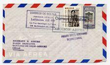 Erstflug Lufthansa FFC 1968 La Paz Santiago de Chile LH 490