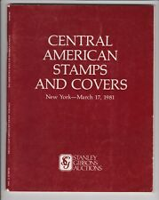 AUCTION CATALOGUE – OUTSTANDING CENTRAL AMERICA STAMPS & COVERS