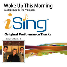 The Whisnants - Woke Up This Morning - Accompaniment Track