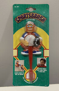 VTG 1992 Baseball Toothbrush By Zooth # 301 Collectible Sportsbrush - NEW