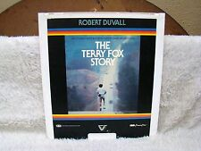 CED VideoDisc The Terry Fox Story (1983), Robert Cooper Films, Inc. Vestron Vid