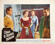 CHASE A CROOKED SHADOW Lobby Card #4 Anne Baxter Richard Todd Film Noir 1958