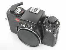 Leica R5, Dichtungen hinten müssen erneuert werden, ansonsten techn. ok