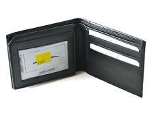 Men's Genuine Leather Wallet Credit Card ID Holder Hidden Pockets Money Section